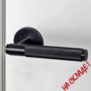 DOOR LEVER HANDLE / BLACK UK-LH-S-38-BL-A