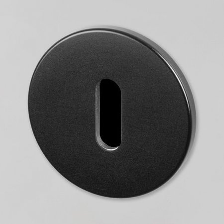 KEY ESCUTCHEON / BLACK UK-ESC-35-BL-A