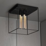 CAGED CEILING 4.0 / SATIN BLACK MARBLE EU-CGC-4-SBM-A