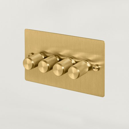 4G DIMMER / BRASS UK-DI-CO-4G-BR-A