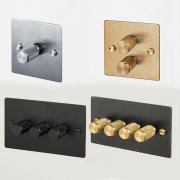 3G DIMMER / BRASS UK-DI-CO-3G-BR-A